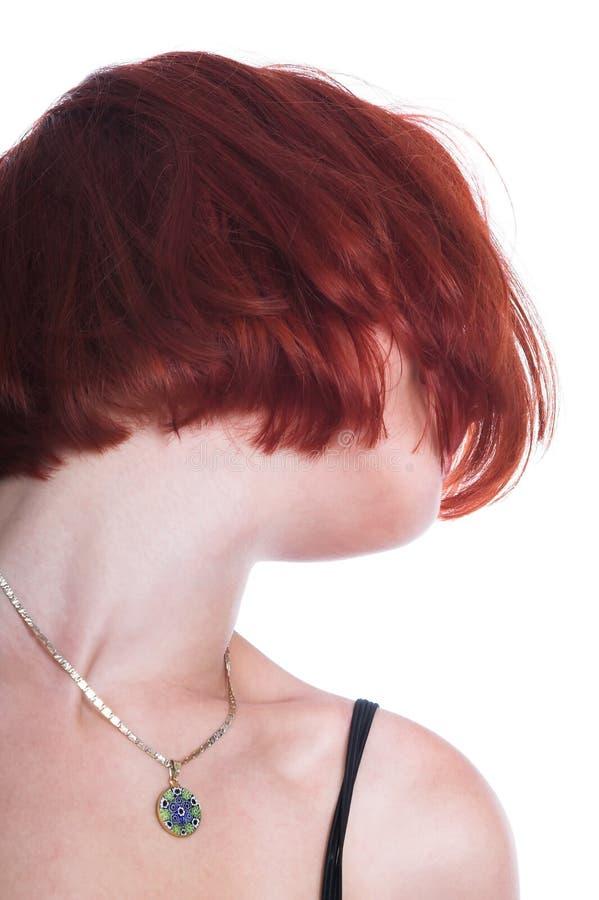 czerwone włosy obrazy royalty free
