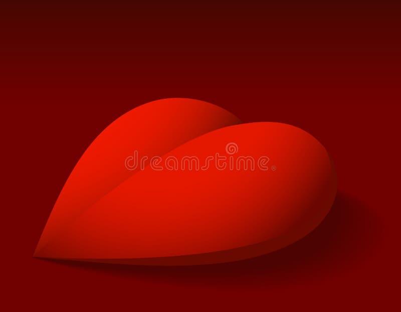 Download Czerwone Walentynki Kierowe Ilustracja Wektor - Ilustracja złożonej z świętowanie, ciemniutki: 28953329