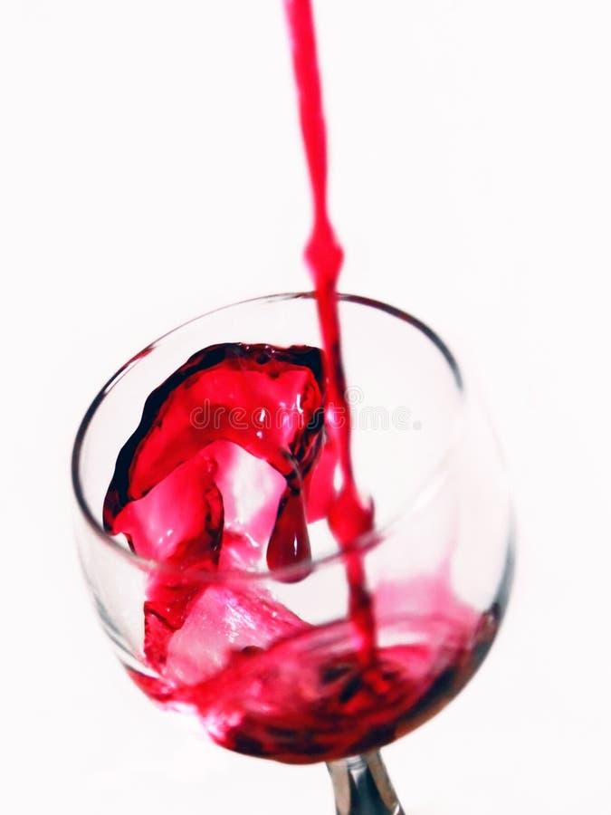 czerwone wino fotografia royalty free