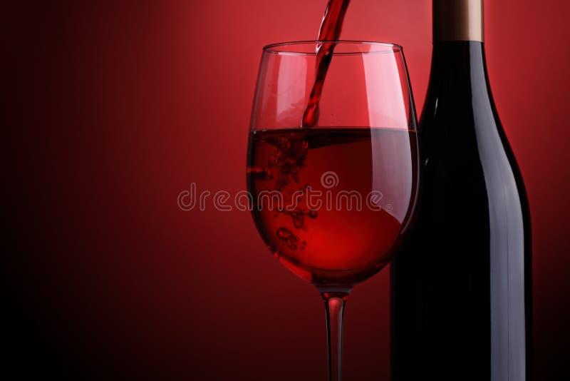 Czerwone wino zdjęcia stock