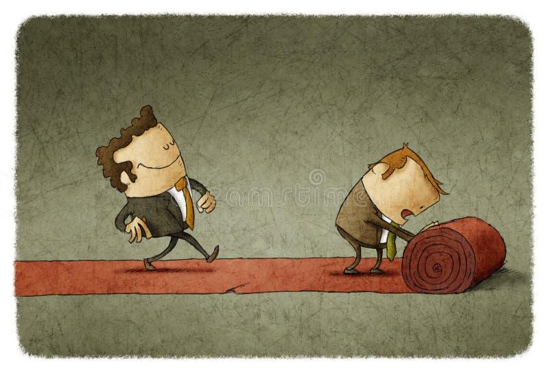 Download Czerwonego chodnika biznes ilustracji. Ilustracja złożonej z wejście - 53788665