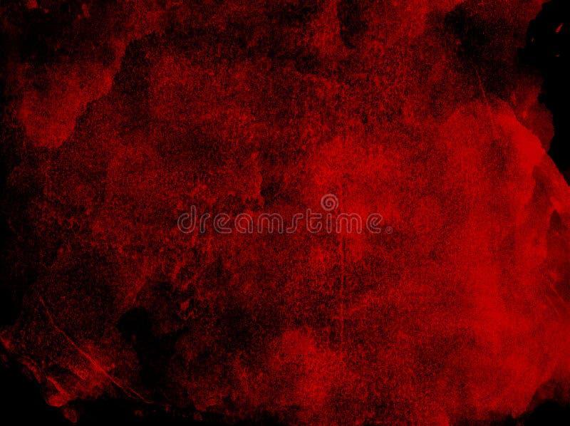 Czerwonego colour farby tekstury tło fotografia royalty free
