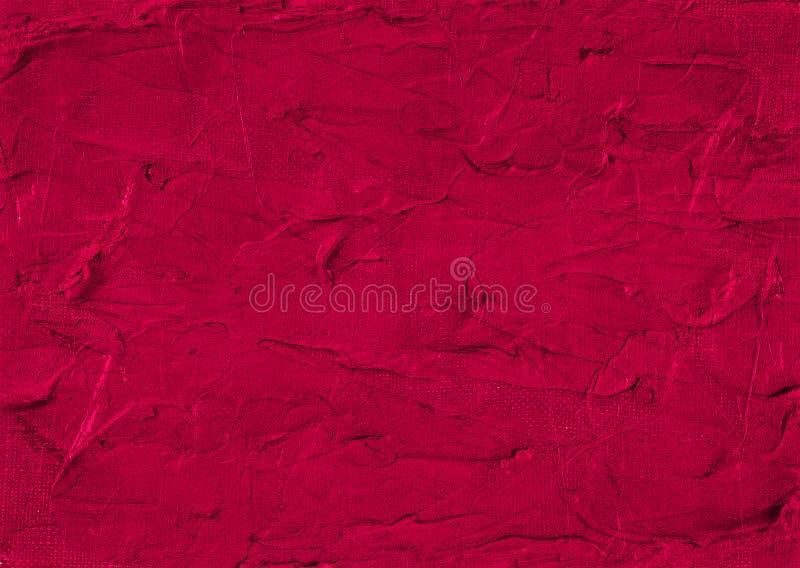 Czerwonego fiołek menchii obrazu Magenta Purpurowego Ciemnego Abstrakcjonistycznego Grunge Ośniedziała Zniekształcająca Rozpadowa zdjęcie stock
