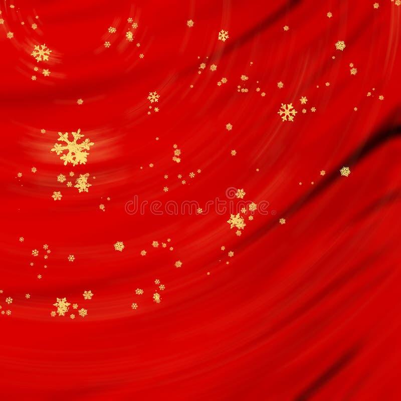 czerwonego jedwabiu ilustracja wektor