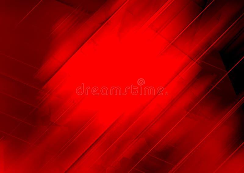 Czerwonego koloru geometryczny abstrakcjonistyczny tło dekoraci projekta ludowa wewn?trzna tekstura ukrainian tw?j royalty ilustracja