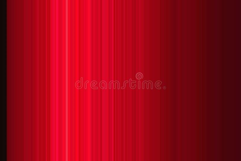 Czerwonego lampasa rumiana r??a paskuj?ca kreskowy retro ilustracji