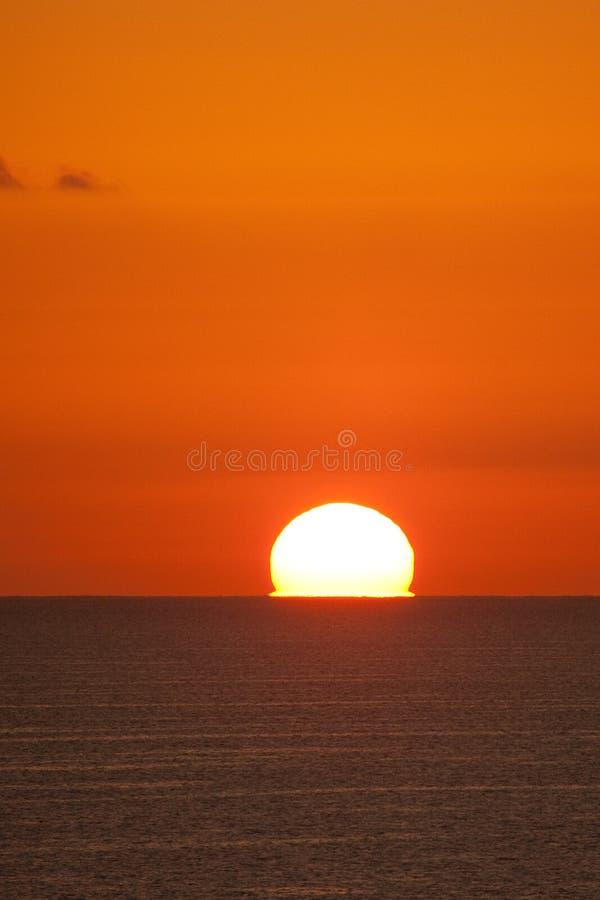 czerwonego morza wschód słońca obraz royalty free