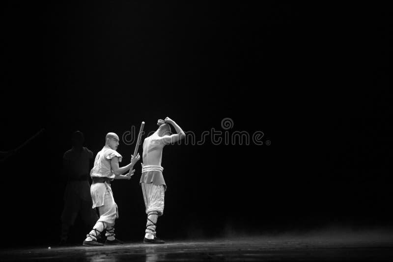 Czerwonego Theatre â€' legenda Kung Fu przedstawienie obrazy royalty free