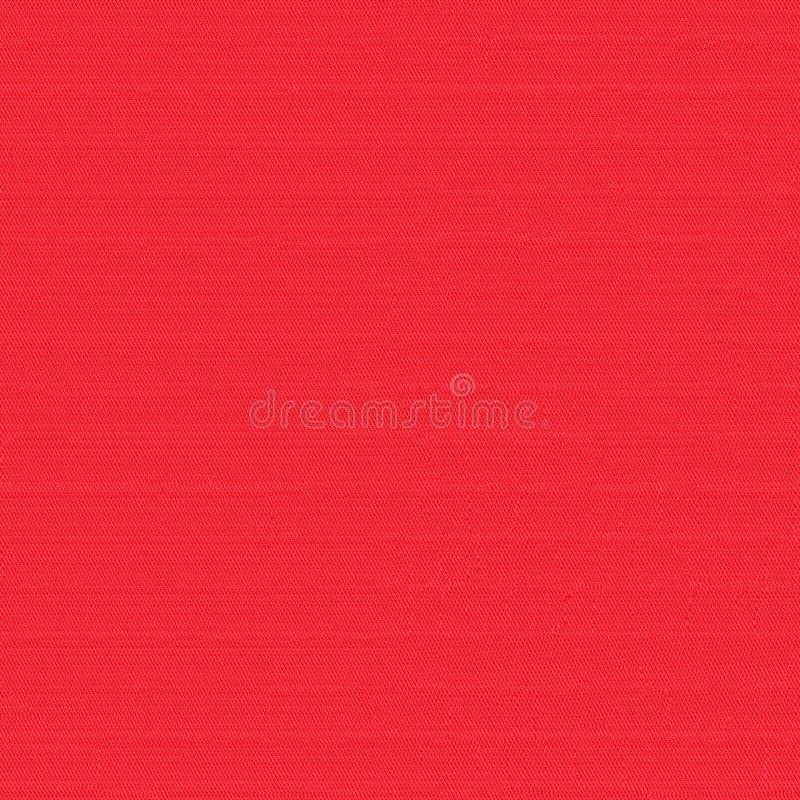 Czerwonej tkaniny bezszwowa tekstura Tekstury mapa dla 3d i 2d ilustracja wektor