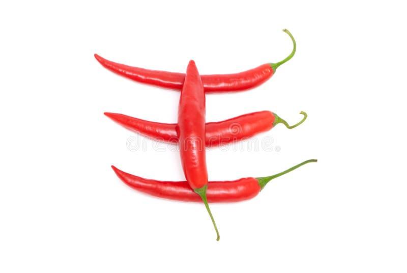 Download Czerwoni Gorący Chili Pieprze Zdjęcie Stock - Obraz złożonej z kulinarny, jedzenie: 13332286
