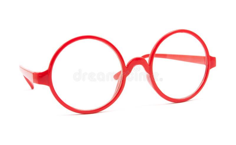czerwoni mod szkła odizolowywający zdjęcie stock