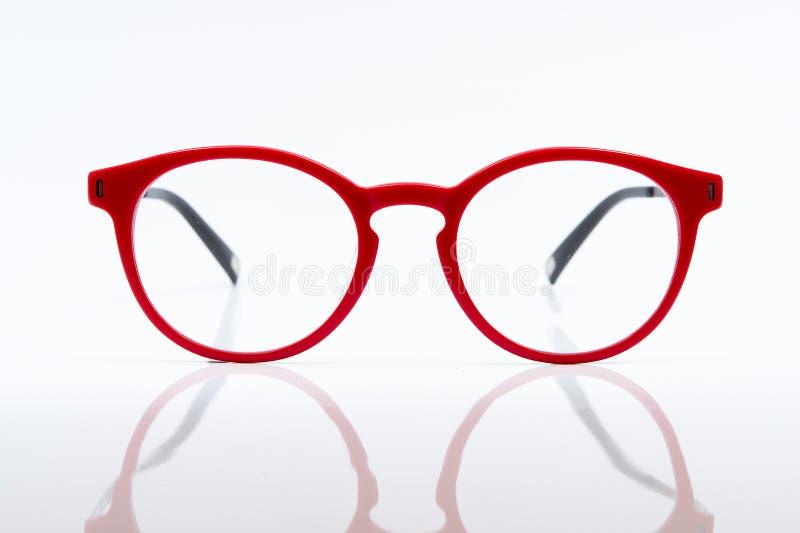 czerwoni oczu szkła fotografia stock
