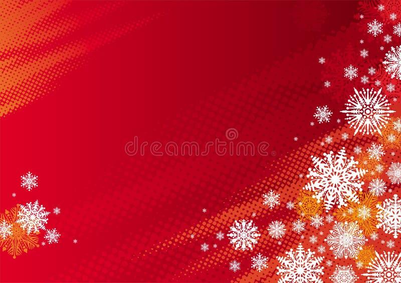 czerwoni tło wakacje ilustracji