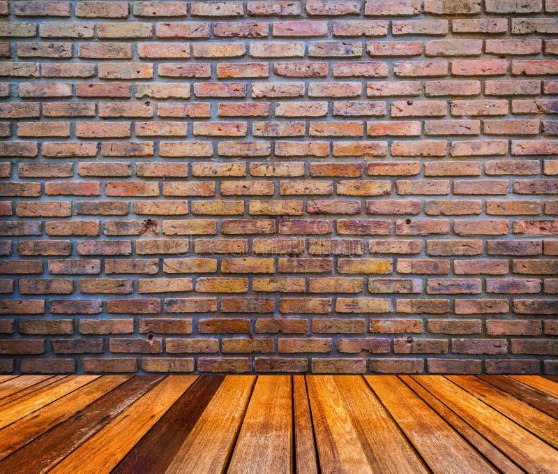 Czerwony ściana z cegieł tekstury grunge tło obrazy stock