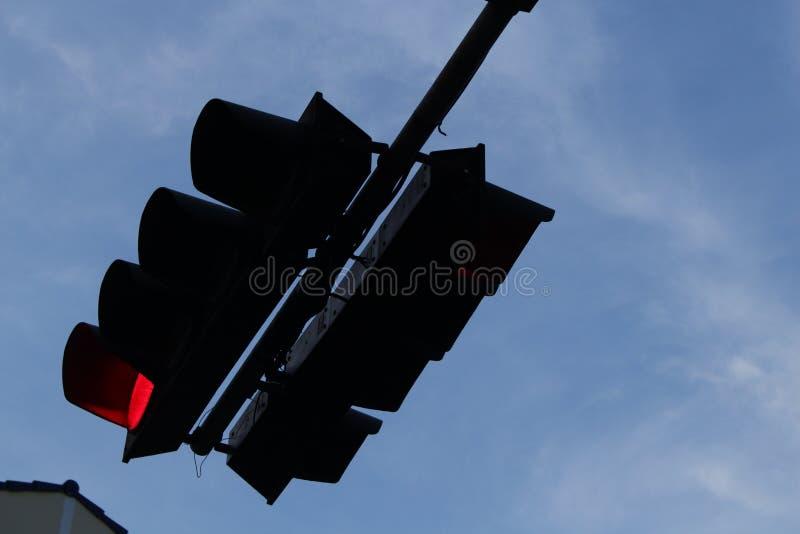 Czerwony światła ruchu zdjęcia stock