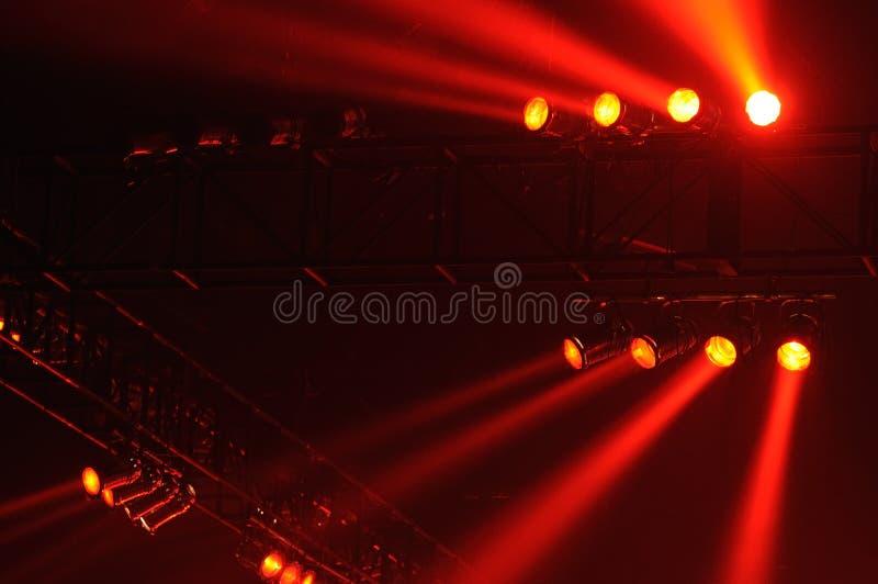 czerwony światło punkt zdjęcia stock