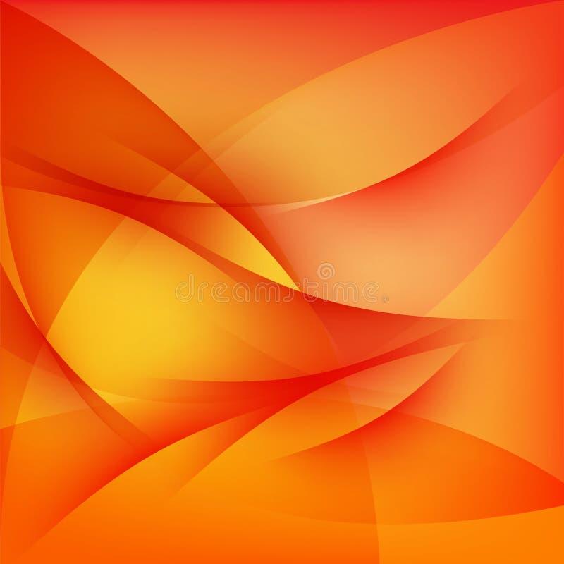 Czerwony abstrakcjonistyczny tło royalty ilustracja