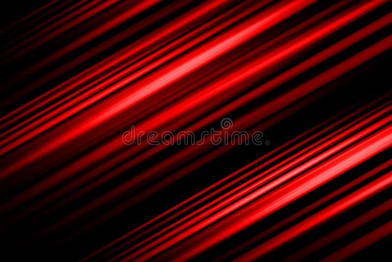Czerwony Abstrakcjonistyczny t?o, czerwone ?wiat?o ruchu plamy abstrakt ilustracja wektor