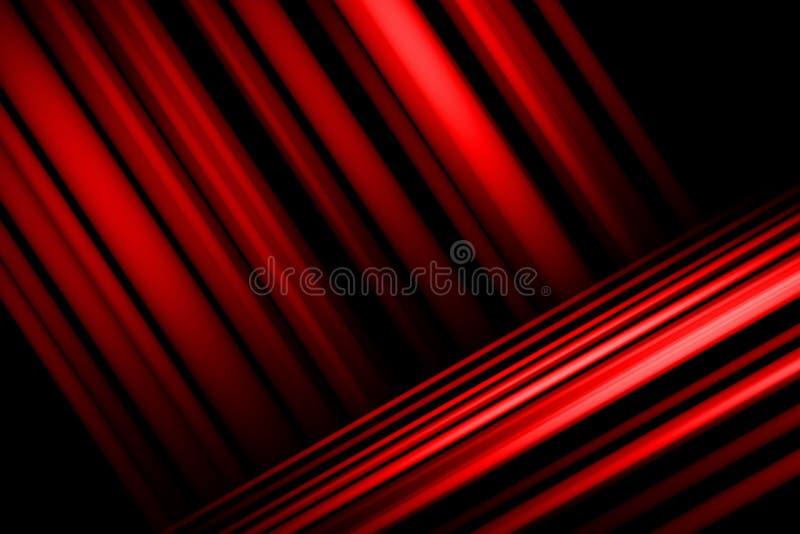 Czerwony Abstrakcjonistyczny t?o, lekki plamy t?o royalty ilustracja