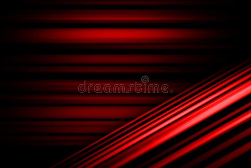 Czerwony Abstrakcjonistyczny t?o, lekki ruch plamy abstrakta t?o ilustracja wektor