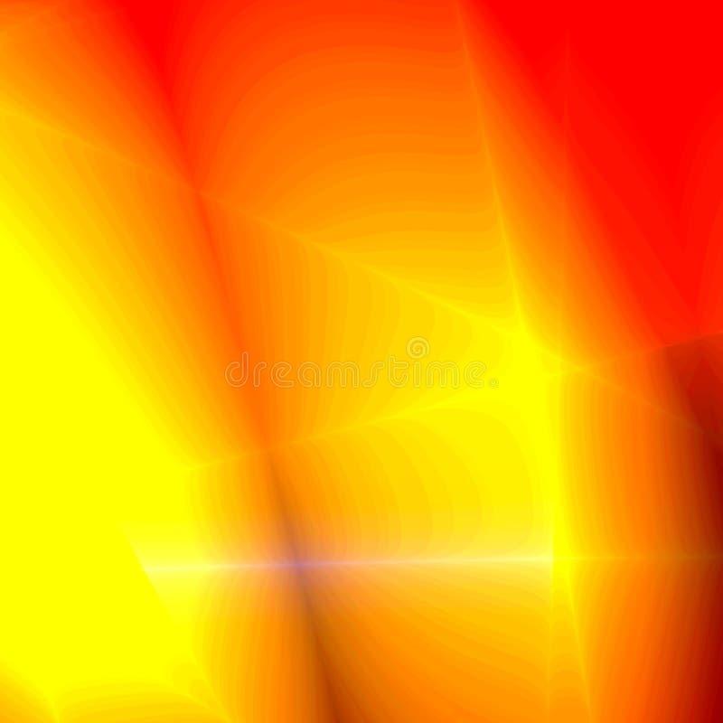 czerwony abstrakcyjne żółty zdjęcie royalty free