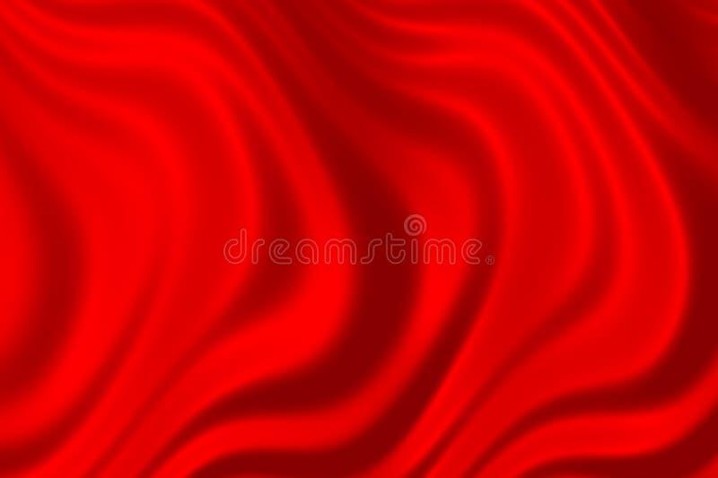 czerwony atłas royalty ilustracja
