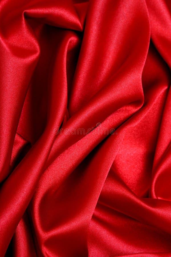 czerwony atłas fale zdjęcia royalty free
