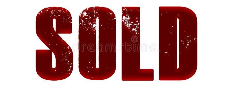 Czerwony atłas Sprzedający ilustracji