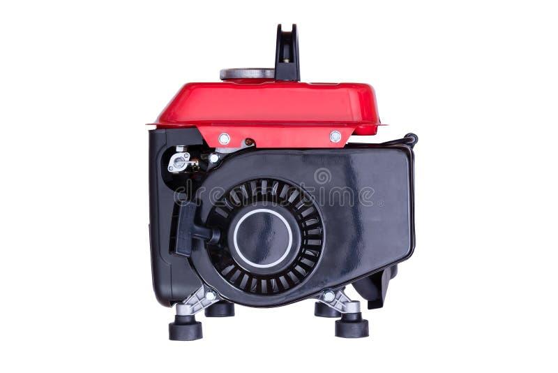 Czerwony benzyna generator przeglądać od strony obraz royalty free