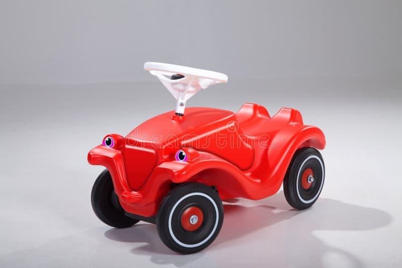 Czerwony bobby samochód zdjęcia stock