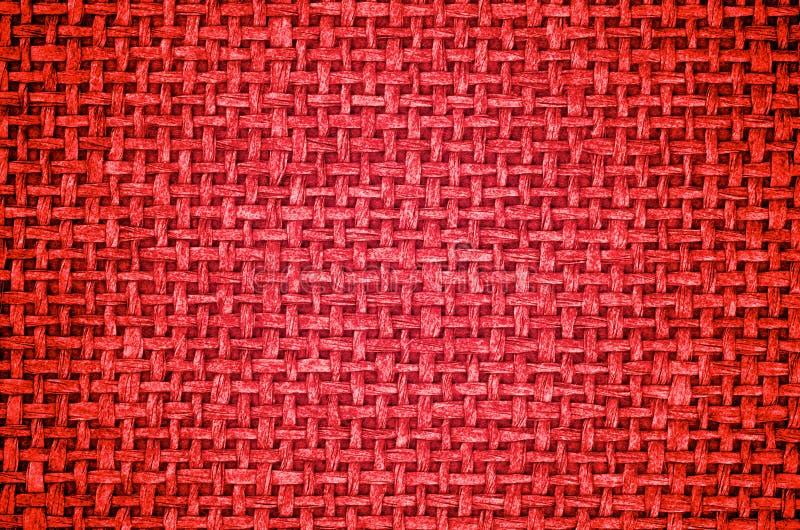 Czerwony Brezentowy tło obraz stock