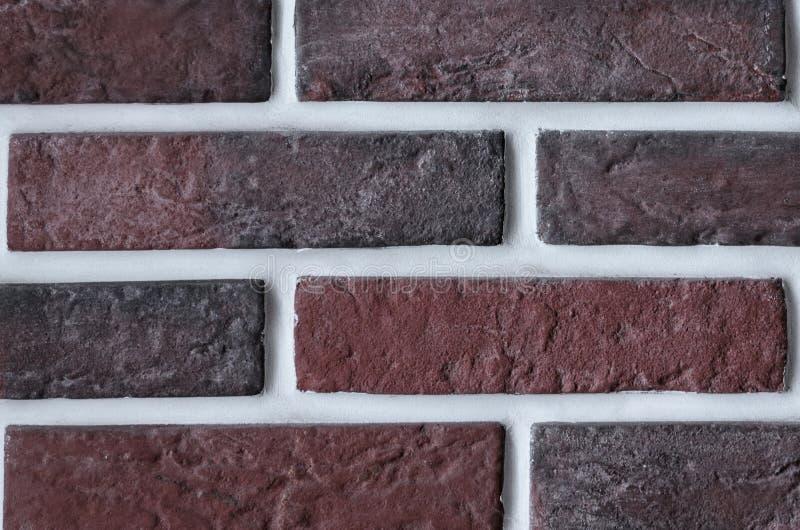 Czerwony brickwork obrazy stock