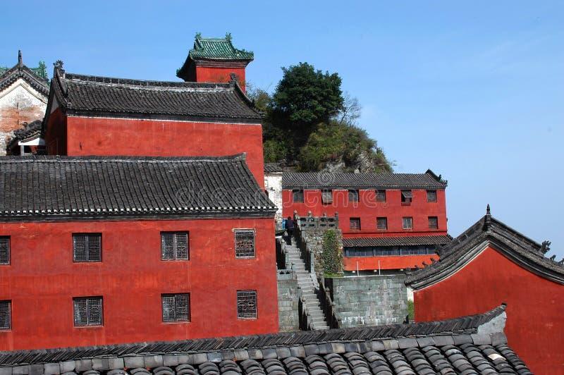 czerwony budynek zdjęcie royalty free
