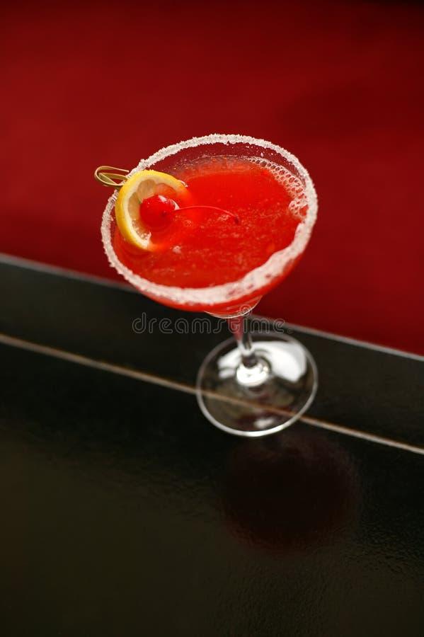 Czerwony chiński napój zdjęcie stock