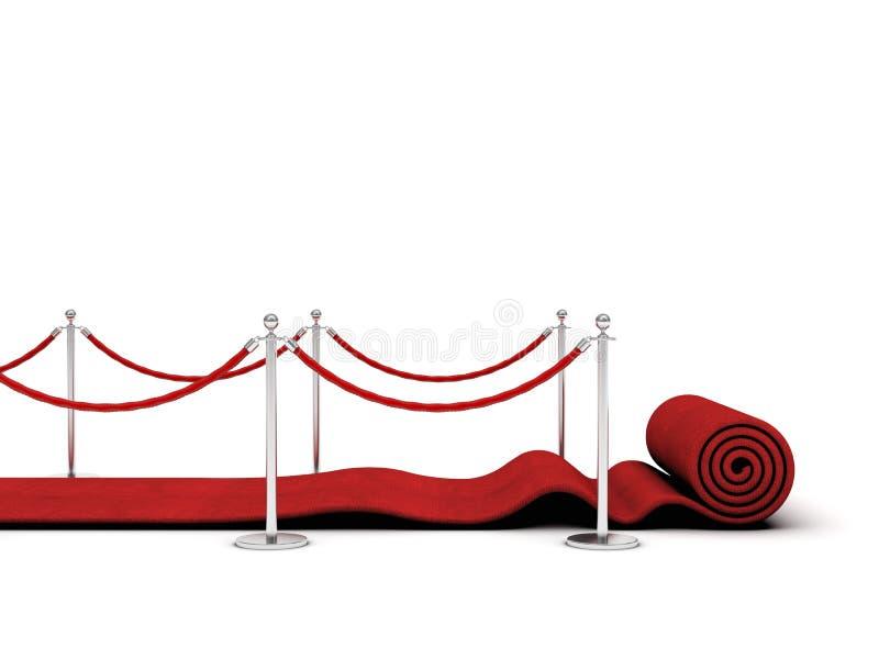 Czerwony chodnik zdjęcie royalty free