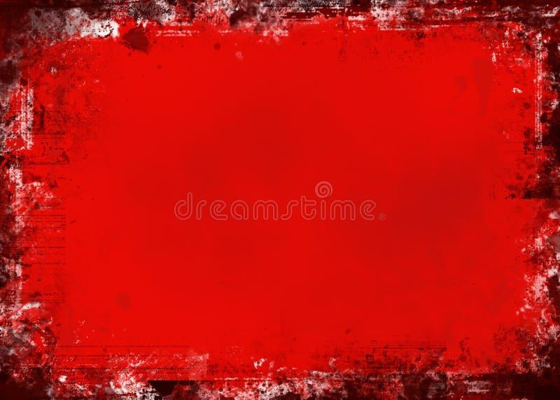 czerwony crunch royalty ilustracja