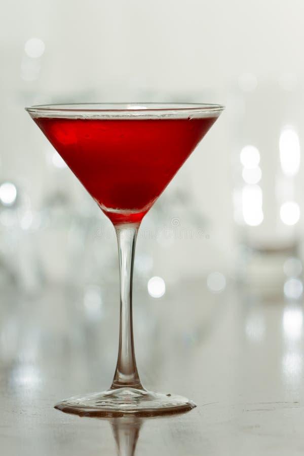 Czerwony czereśniowy napój obraz royalty free