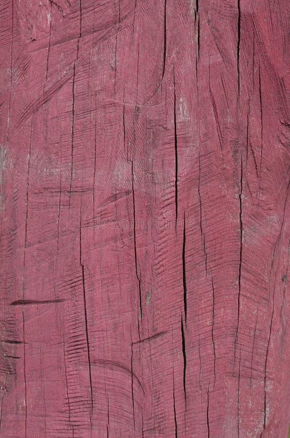 czerwony drewna obraz royalty free