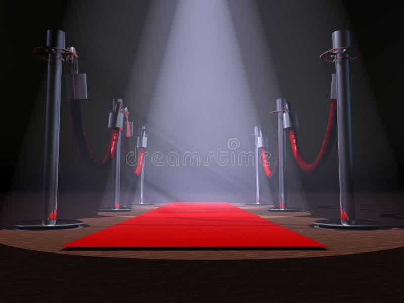 czerwony dywanowa