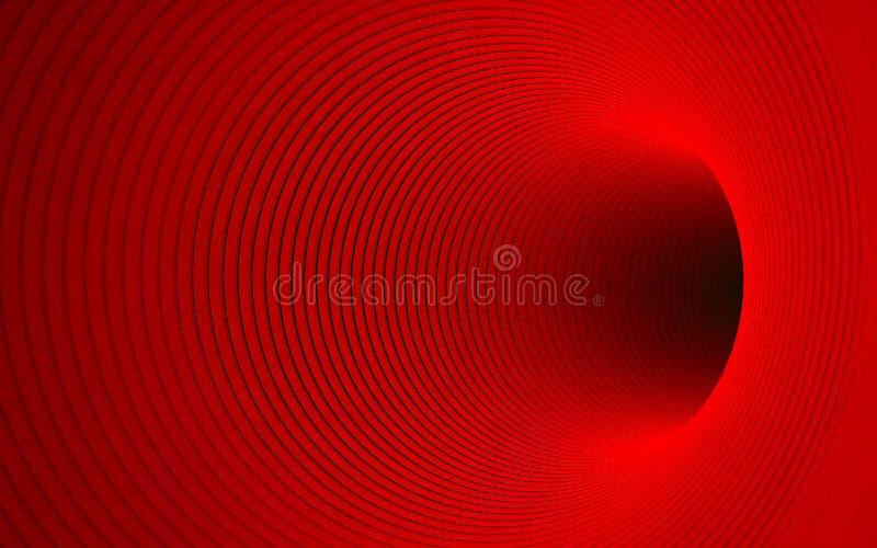 czerwony dziury ilustracji