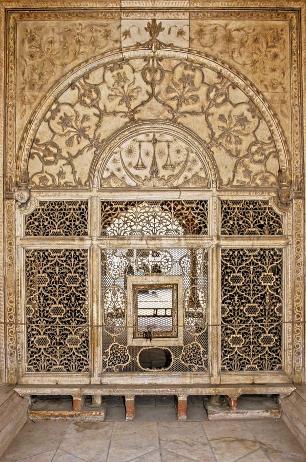 czerwony fort delhi. fotografia royalty free
