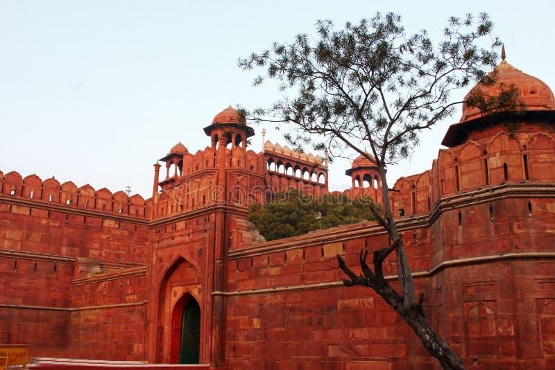 Czerwony fort, Delhi India zdjęcia stock