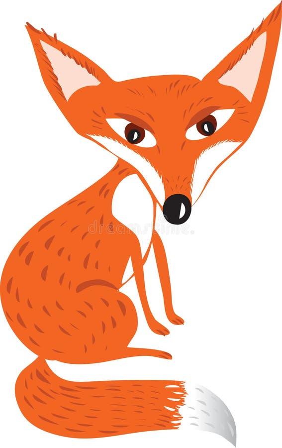 Czerwony Fox royalty ilustracja