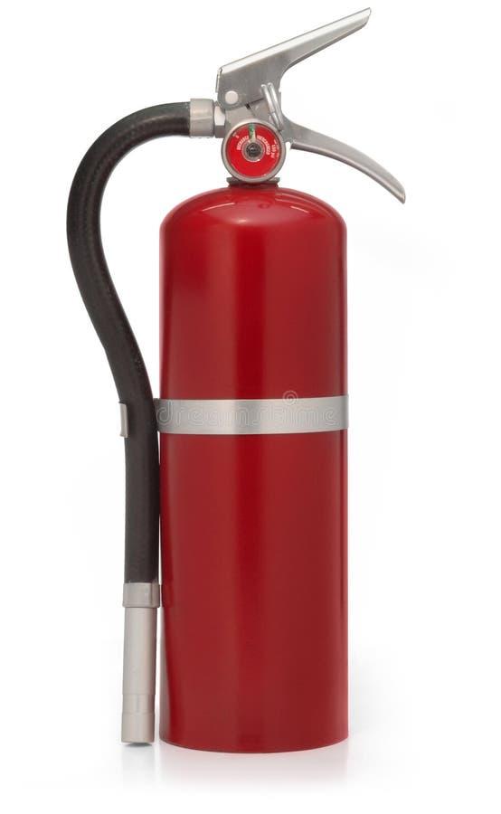czerwony gaśnicę przeciwpożarowe zdjęcie stock