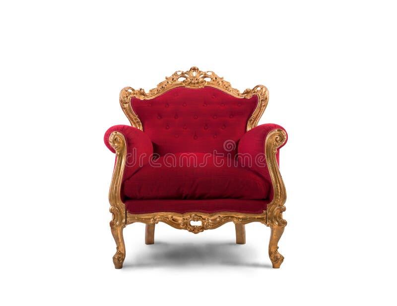 Czerwony i złocisty luksusowy karło fotografia stock