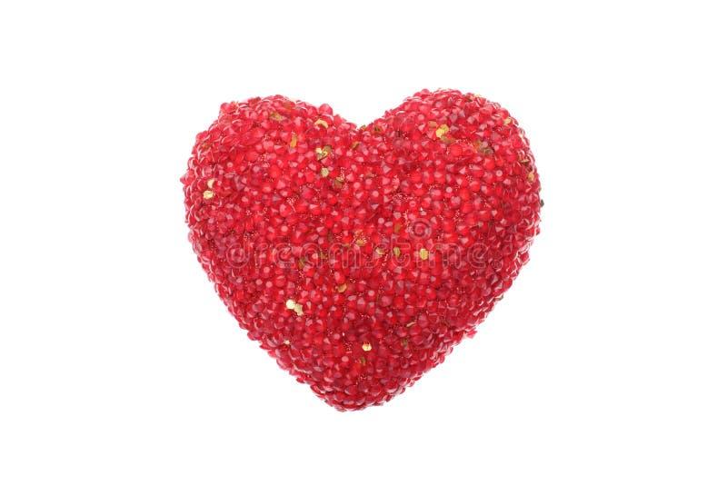 Download Czerwony iskrzasty serce zdjęcie stock. Obraz złożonej z romantyczny - 28970892