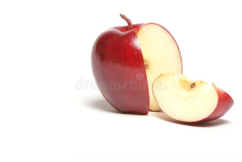 czerwony jabłczana zdjęcie stock