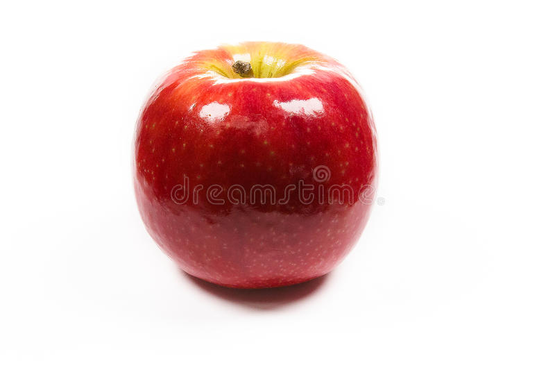 Czerwony jabłko zdjęcia royalty free