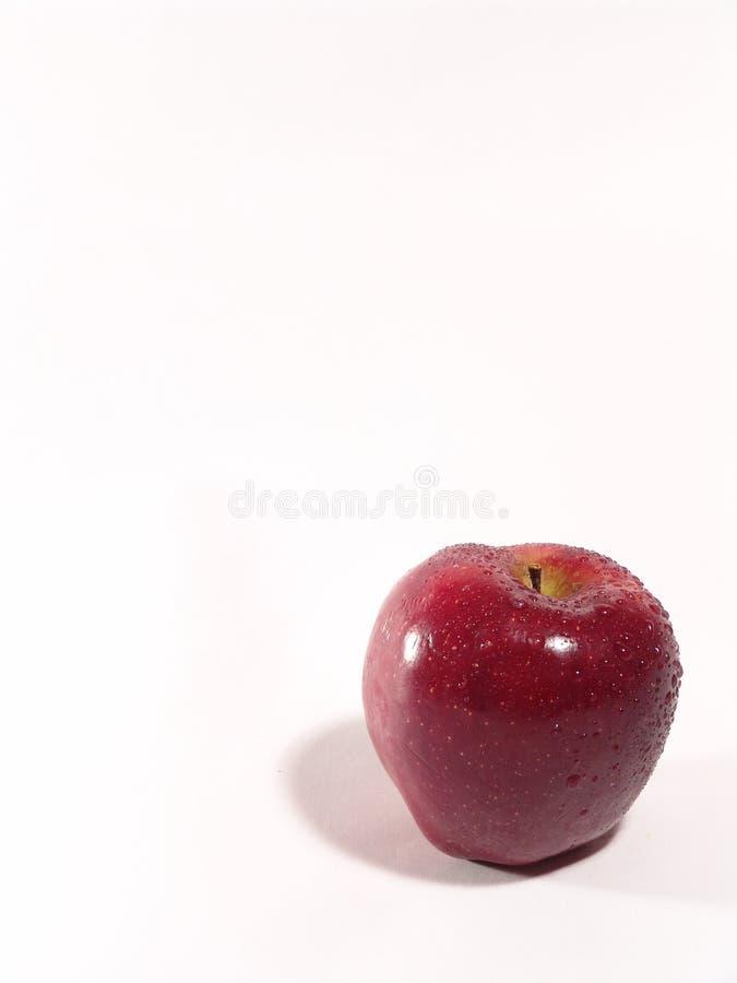 Download Czerwony jabłczana obraz stock. Obraz złożonej z macro, zatrzymuje - 27867