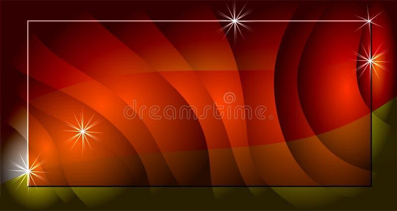 Czerwony jaskrawy gradient wykonuje plamy tło ilustracji